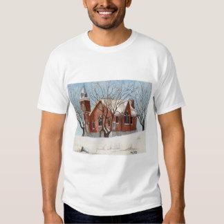 St. Andrews Presbyterian Church, Watercolor T-Shirt
