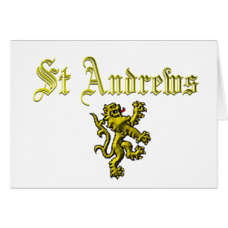 St Andrews Scotland Card