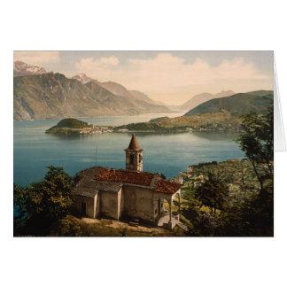 St Ángel, lago Como, Lombardía, Italia de Capello Tarjeta De Felicitación