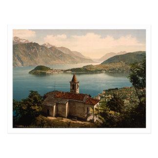 St Ángel, lago Como, Lombardía, Italia de Capello Tarjetas Postales