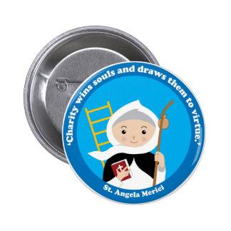 St. Angela Merici 2 Inch Round Button