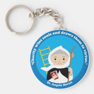 St. Angela Merici Keychain