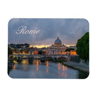 St. Angelo Bridge, St. Peter's Basilica, Rome Magnet