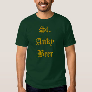 St. Anky Beer Shirt
