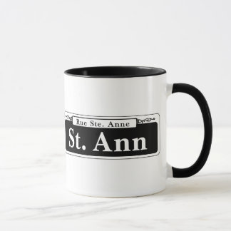 St. Ann St., New Orleans Street Sign Mug