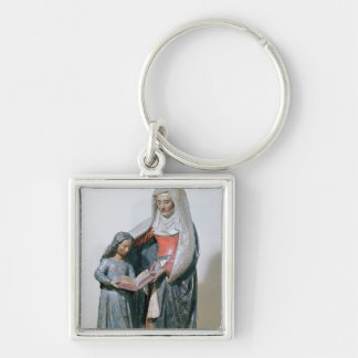 St. Anne and the Virgin, 1500-30 Keychain
