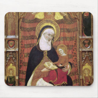St. Anne and the Virgin Mouse Pad