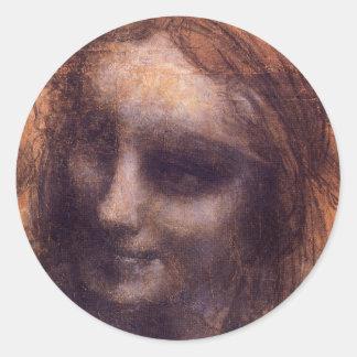 St. Anne Classic Round Sticker