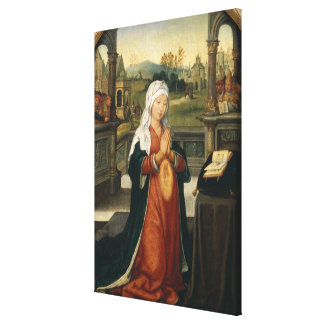 St.Anne Conceiving the Virgin Canvas Print