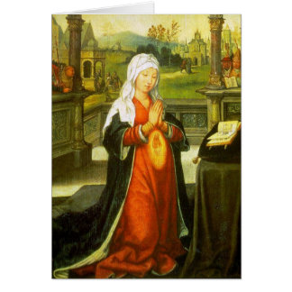 St. Anne Conceiving the Virgin Mary. Greeting Cards