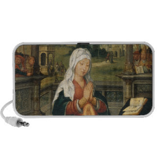 St.Anne Conceiving the Virgin Portable Speaker