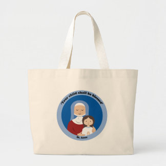 St. Anne Large Tote Bag