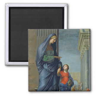 St. Anne Leading the Virgin to the Temple Magnet