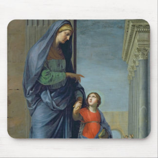 St. Anne Leading the Virgin to the Temple Mouse Pad