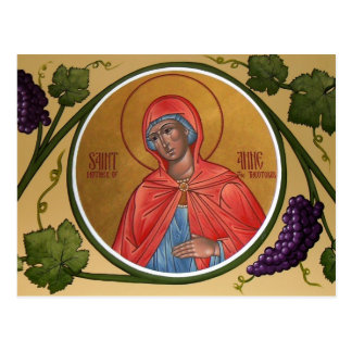 St Anne Prayer Card Postcard