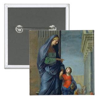 St Anne que lleva a la Virgen al templo Pins