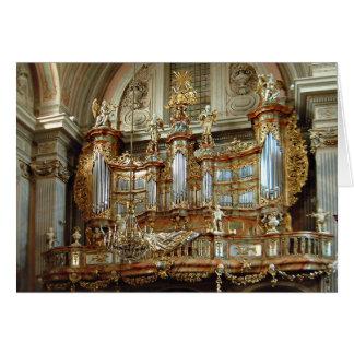 St Anne, Varsovia, Polonia Felicitacion