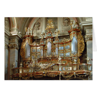 St Anne, Varsovia, Polonia Tarjeta De Felicitación