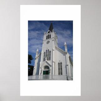 St Anne's Church Mackinaw Island Poster