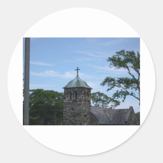 St. Annes Classic Round Sticker
