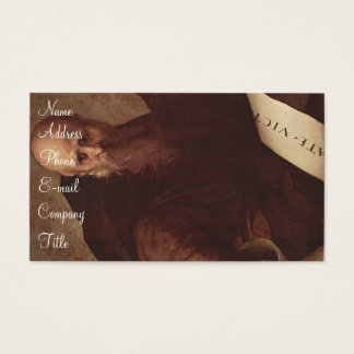 'St. Anthony Abbot' Business Card