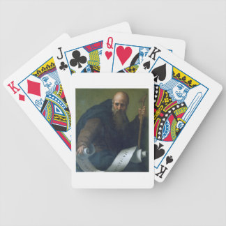 St. Anthony Abbot (c.251-356) c.1518-19 (oil on ca Bicycle Playing Cards