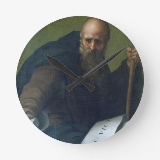St. Anthony Abbot (c.251-356) c.1518-19 (oil on ca Round Clock