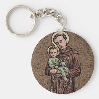 St. Anthony & Baby Jesus Keychain