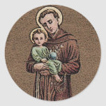 St. Anthony & Baby Jesus Stickers