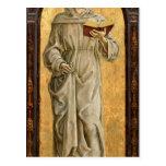 St Anthony de la lectura de Padua Postales