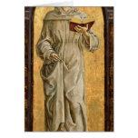 St Anthony de la lectura de Padua Tarjeta De Felicitación
