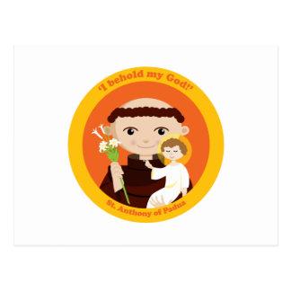 St Anthony de Padua Tarjetas Postales