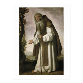 St. Anthony Dispirited, 1640 (oil on canvas) Postcard
