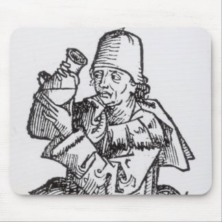 St. Anthony  from 'Liber Chronicarum' Mouse Pad
