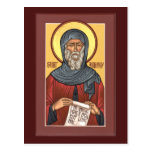 St Anthony la gran tarjeta del rezo Tarjetas Postales