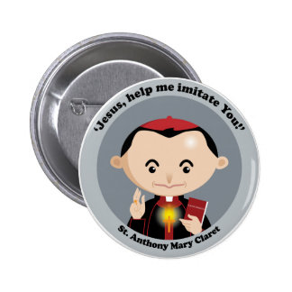 St. Anthony Mary Claret Buttons