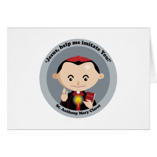 St. Anthony Mary Claret Card