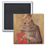 St. Anthony of Padua 2 Inch Square Magnet