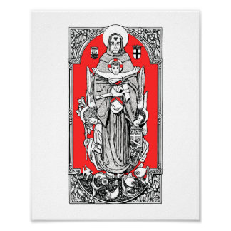 "St. Anthony of Padua 8"" x 10"" Print"