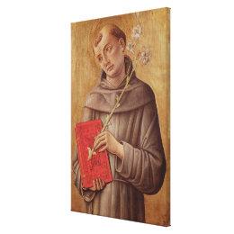 St. Anthony of Padua Canvas Print