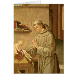 St Anthony of Padua Card