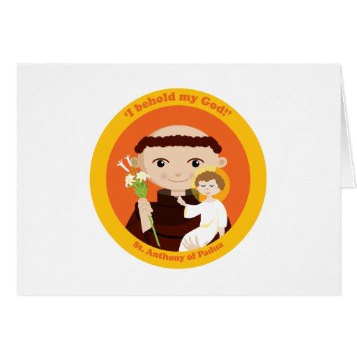 St. Anthony of Padua Greeting Card