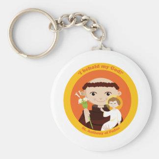 St. Anthony of Padua Keychain