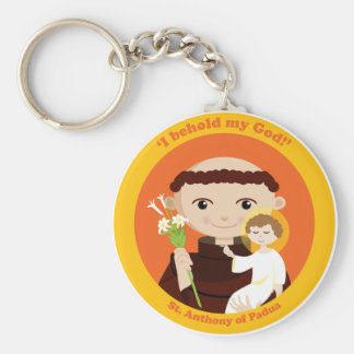 St. Anthony of Padua Keychain