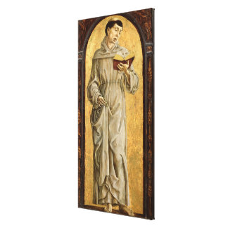 St. Anthony of Padua  Reading Canvas Print