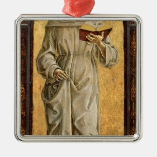 St. Anthony of Padua  Reading Metal Ornament