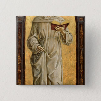St. Anthony of Padua  Reading Pinback Button