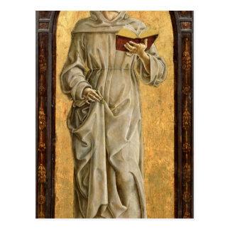 St. Anthony of Padua  Reading Postcard