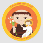 St. Anthony of Padua Sticker