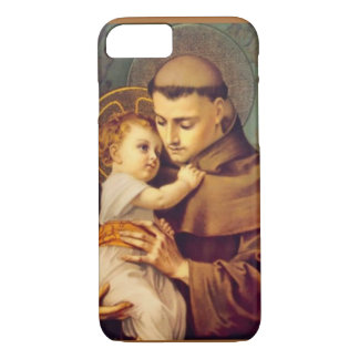 St. Anthony of Padua with Baby Jesus iPhone 7 Case